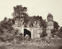 Gaur. Dakhil Gate. South View.
